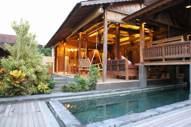 Beautiful Three Bedroom Joglo Style Villa