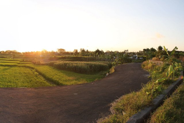 3000m2 Land for Sale in Gianyar with Mt Agung and Sea Views